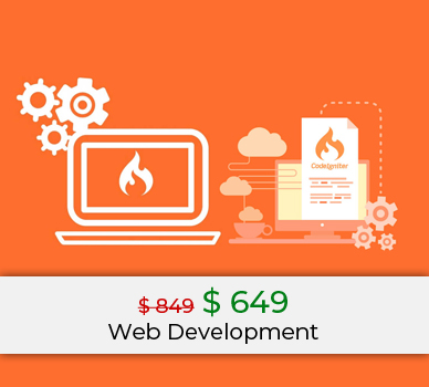 web development codeigniter